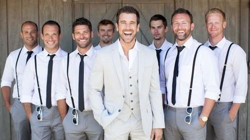 Complete groomsmen tailoring