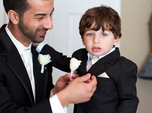 tuxedos and suits for the entire wedding party